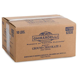 Ghirardelli Sweet Ground Chocolate and Cocoa Powder (10 lbs)-Powdered Base-Ghirardelli-Carry Out Supplies