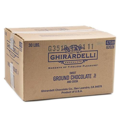 Ghirardelli Sweet Ground Chocolate and Cocoa Powder (30 lbs)-Powdered Base-Ghirardelli-Carry Out Supplies