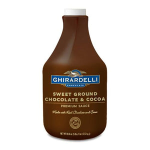 Ghirardelli Sweet Ground Chocolate & Cocoa Sauce (64 fl oz)-Sauces-Ghirardelli-Carry Out Supplies