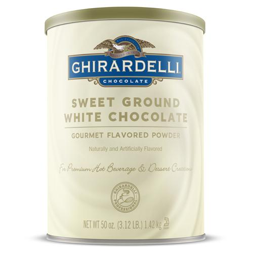 Ghirardelli Sweet Ground White Chocolate Flavored Powder (3.12 lbs)-Powdered Base-Ghirardelli-Carry Out Supplies