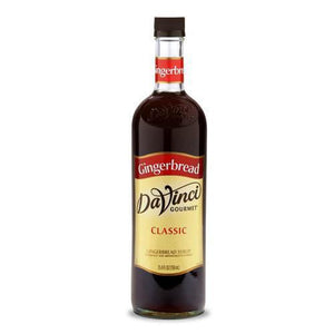 Gingerbread DaVinci Syrup Bottle - 750mL-Syrups-DaVinci Gourmet-Carry Out Supplies