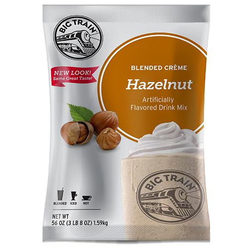 Hazelnut Blended Creme Frappe - Big Train Mix - Bag 3.5 pounds-Powdered Base-Big Train-Carry Out Supplies
