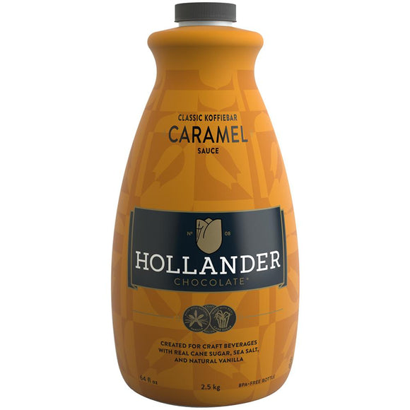 Hollander Classic Koffiebar Caramel Sauce (64 fl oz)-Sauces-Hollander-Carry Out Supplies