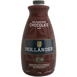 Hollander Sweet Ground Dutched Chocolate Sauce (64 fl oz)-Sauces-Hollander-Carry Out Supplies