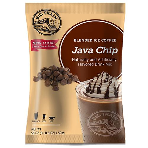 Java Chip Blended Ice Coffee - Big Train Mix - Bag 3.5 pounds-Powdered Base-Big Train-Carry Out Supplies