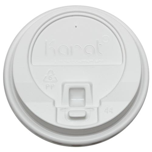 Karat 10-24oz Enclosure Lids - White (90mm) - 1,000 ct-Cups & Lids-Karat-Carry Out Supplies