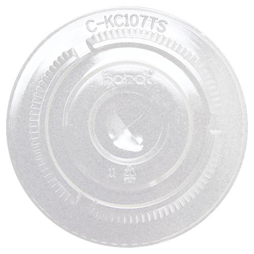 Karat 107mm PET Flat Lids - 500 ct-Cups & Lids-Karat-Carry Out Supplies