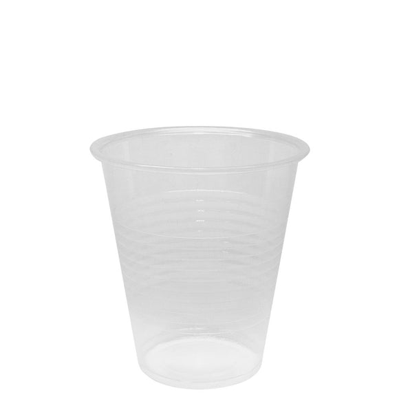 Karat 12oz PP Ribbed Cold Cups (90mm) - 1,000 ct-Cups & Lids-Karat-Carry Out Supplies