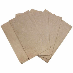 "Karat 12""x13"" Off-Fold Napkins - Kraft - 6,000 ct-Napkins-Karat-Carry Out Supplies"
