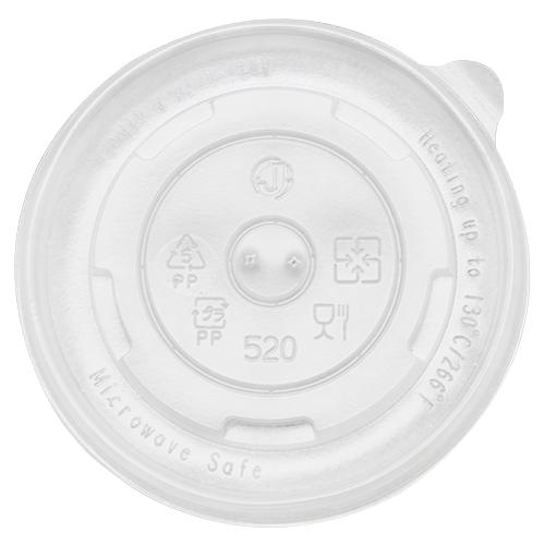Karat 16oz PP Food Container Flat Lids (112mm) - 1,000 ct-To-Go Packaging-Karat-Carry Out Supplies