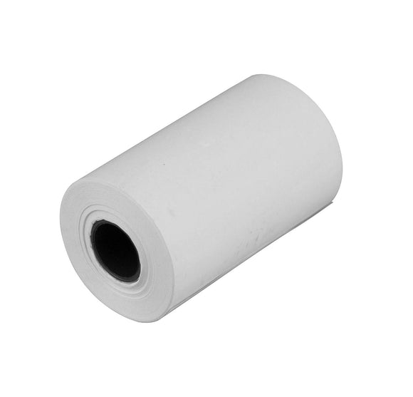 Karat 2.25 x50' Thermal Paper Rolls - White - 50 ct - Cash Register Tape-Host & Server Supplies-Restaurant Supply Drop-Carry Out Supplies