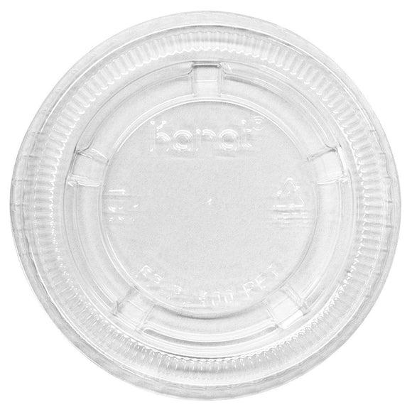 Karat 3.25 - 5.5oz PET Portion Cup Lids - 2,500 ct-To-Go Packaging-Karat-Carry Out Supplies