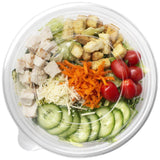 Karat 32oz PET Salad Bowl Lids - 300 ct-Bowls & Plates-Karat-Carry Out Supplies