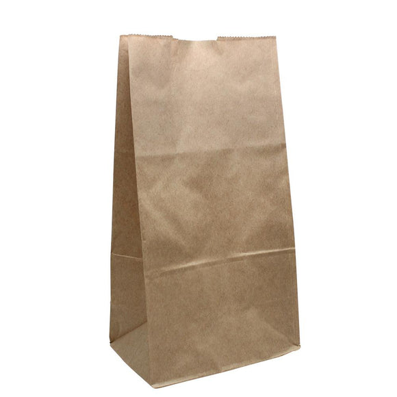 Karat 6lb Paper Bag - Kraft - 2,000 ct-To-Go Packaging-Karat-Carry Out Supplies