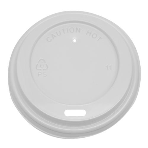 Karat 8oz Sipper Dome Lids - White (80mm) - 1,000 ct-Cups & Lids-Karat-Carry Out Supplies