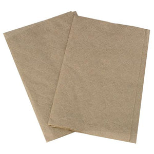 "Karat 8""x6.5"" Interfold Dispense Napkins - Kraft - 6,000 ct-Napkins-Karat-Carry Out Supplies"