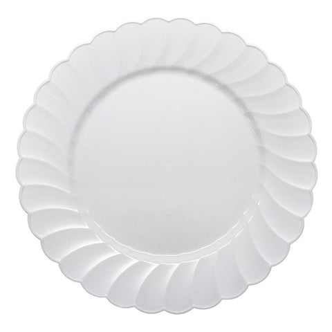 Plastic Dinner Plates - Catering Plates