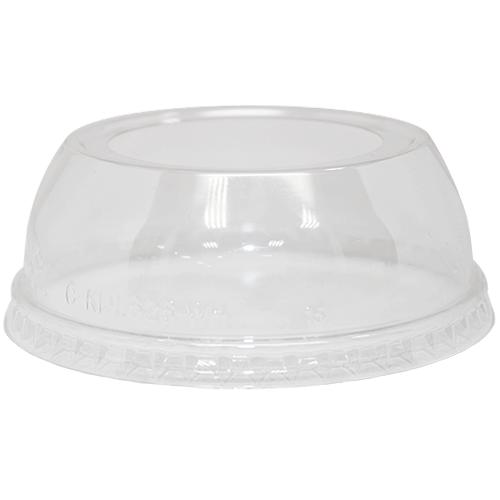 Karat 98mm PET Dome Lids - Wide Opening - 1,000 ct-Cups & Lids-Karat-Carry Out Supplies
