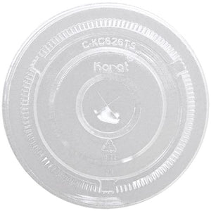 Karat 98mm PET Flat Lids - 1,000 ct-Cups & Lids-Karat-Carry Out Supplies
