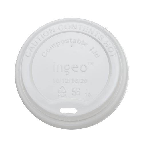 Karat Earth 10oz - 20oz Compostable Sipper Dome Lids (90mm) - 1,000 ct-Cups & Lids-Karat-Carry Out Supplies