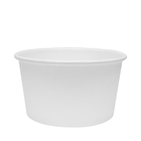 Karat Earth 12oz Eco-Friendly Paper Food Containers - White (114.6mm) - 500 ct-To-Go Packaging-Karat-Carry Out Supplies