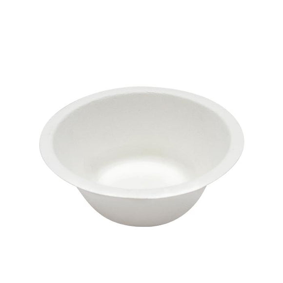 Karat Earth 8oz Compostable Bagasse Rice & Salad Bowls - 1,000 ct-Bowls & Plates-Karat-Carry Out Supplies