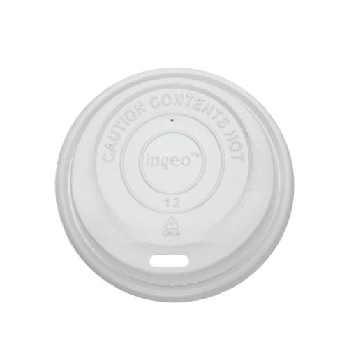 Karat Earth 8oz Compostable Sipper Dome Lids (80mm) - 1,000 ct-Cups & Lids-Karat-Carry Out Supplies