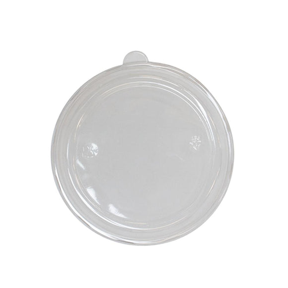 Karat PET Dome Lid for 24 oz. Bagasse Bowls - 200 ct-Bowls & Plates-Restaurant Supply Drop-Carry Out Supplies