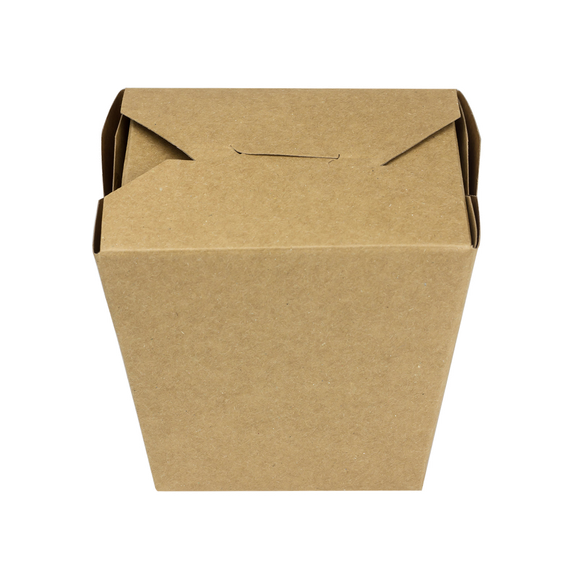 Large Oyster Pails - 32oz Chinese Food Boxes - Paper Food Pail - Kraft - 450 Count-Restaurant Supply Drop