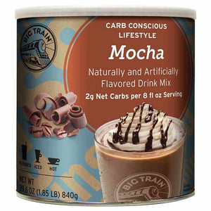 Low Carb Mocha Blended Ice Coffee - Big Train Mix (1.85 lbs)-Powdered Base-Big Train-Carry Out Supplies