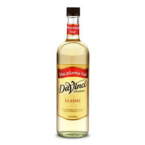Macadamia Nut DaVinci Gourmet Syrup Bottle - 750mL-Syrups-DaVinci Gourmet-Carry Out Supplies