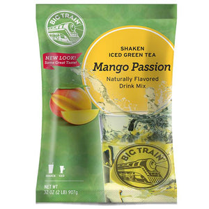 Mango Passion Shaken Iced Green Tea - Big Train Mix (2 lbs)-Powdered Base-Big Train-Carry Out Supplies