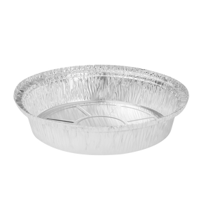 "Medium Aluminum Foil Containers - 8"" Round - Karat - 500 Containers-Restaurant Supply Drop"