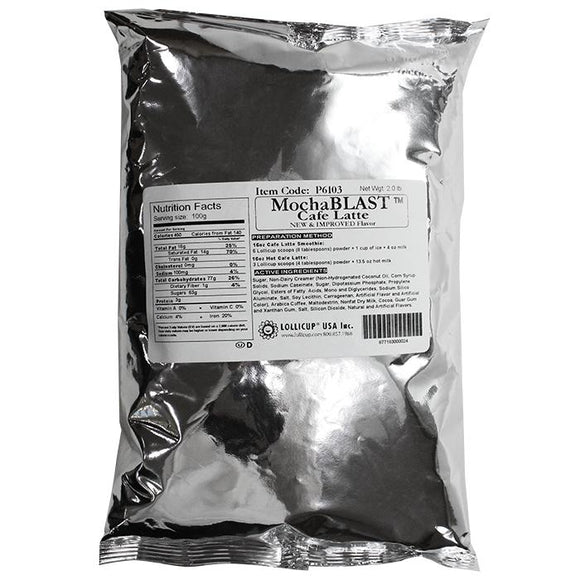 MochaBLAST Cafe Latte Powder (2 lbs)-Powdered Base-Karat-Carry Out Supplies