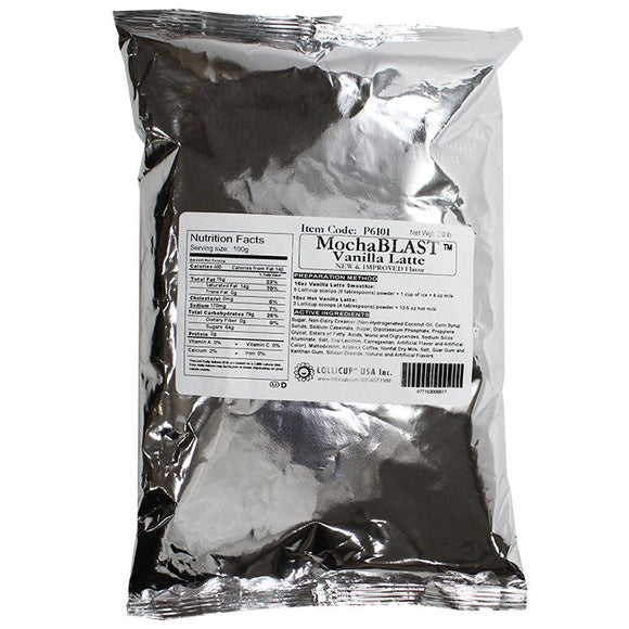 MochaBLAST Vanilla Latte Powder (2 lbs)-Powdered Base-Karat-Carry Out Supplies