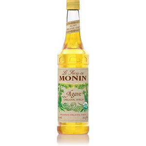 Monin Agave Nectar Organic Sweetener Syrup (750 mL)-Syrups-monin-Carry Out Supplies
