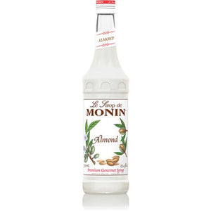 Monin Almond (Orgeat) Syrup Bottle - 750ml-Syrups-monin-Carry Out Supplies
