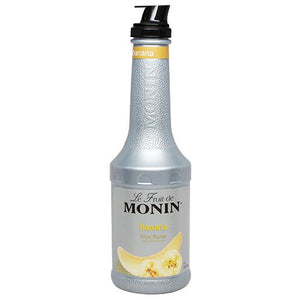 Monin Banana Fruit Pure (1L)-Liquid Base & Purees-monin-Carry Out Supplies