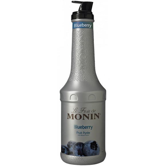 Monin Blueberry Fruit Pure (1L)-Liquid Base & Purees-monin-Carry Out Supplies