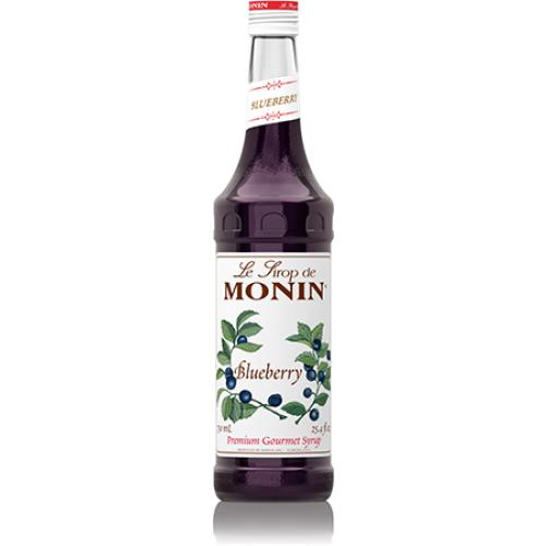 Monin Blueberry Syrup Bottle - 750ml-Syrups-monin-Carry Out Supplies