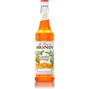 Monin Candied Orange Syrup Bottle - 750ml-Syrups-monin-Carry Out Supplies