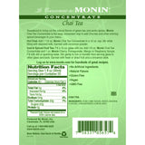 Monin Chai Tea Concentrate Syrup Bottle - 750ml-Syrups-monin-Carry Out Supplies