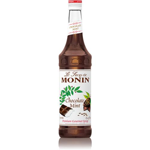 Monin Chocolate Mint Syrup Bottle - 750ml-Syrups-monin-Carry Out Supplies
