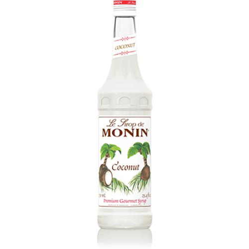 Monin Coconut Syrup Bottle - 750ml-Syrups-monin-Carry Out Supplies