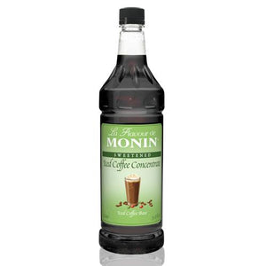Monin Iced Coffee Concentrate Bottle - 1 Liter-Syrups-monin-Carry Out Supplies