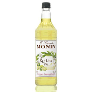 Monin Key Lime Pie Syrup Bottle - 1 Liter-Syrups-monin-Carry Out Supplies