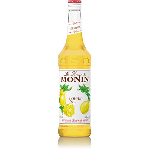 Monin Lemon Syrup Bottle - 750ml-Syrups-monin-Carry Out Supplies