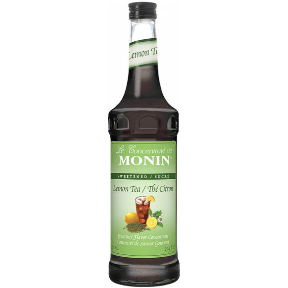 Monin Lemon Tea Concentrate Syrup Bottle - 750ml-Syrups-monin-Carry Out Supplies