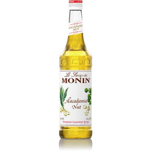 Monin Macadamia Nut Syrup Bottle - 750ml-Syrups-monin-Carry Out Supplies