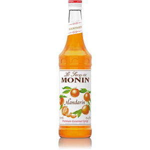 Monin Mandarin Syrup Bottle - 750ml-Syrups-monin-Carry Out Supplies